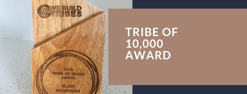 Tribe Of 10,000 Award