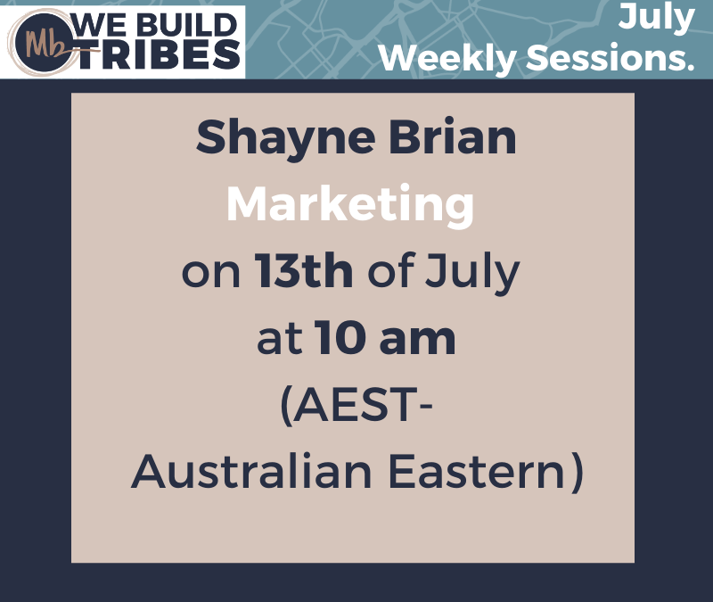 Next Weeks Upcoming Session